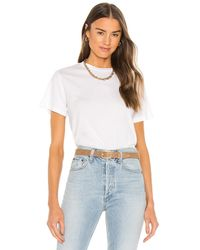 Agolde Rena Tシャツ - ホワイト