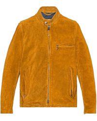 Schott Nyc ジャケット - オレンジ