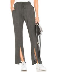 LNA - Twin Pant In Gray - Lyst