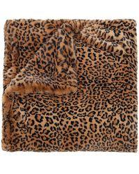 Apparis Brady Faux Fur Blanket - Braun