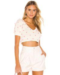 MAJORELLE Mia Crop Sweater - Weiß