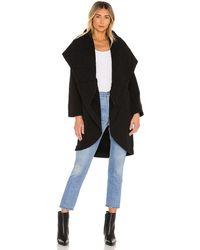 Young Fabulous & Broke Sandrine Coat - Black