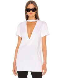 GRLFRND Busty Tシャツ - ホワイト