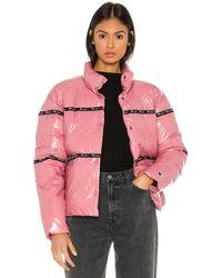Champion Puff Jacket - Pink