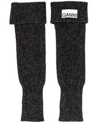 Ganni Wrist Warmer - Black