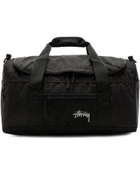 Stussy - Stock Duffle Bag In Black. - Lyst