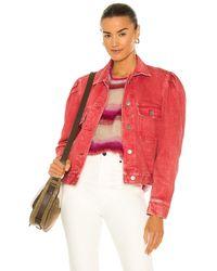 Étoile Isabel Marant Куртка Tiolana В Цвете Красный