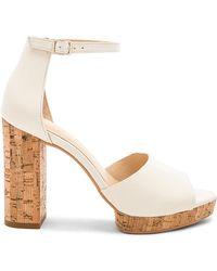 Vince Camuto - Ciestie Heel In White - Lyst