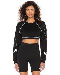 Nike Nsw Swoosh スウェットシャツ - ブラック