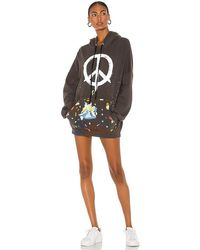 Lauren Moshi Desiree Hoodie Dress - Multicolour