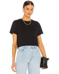 Richer Poorer Cropped T-Shirt mit weitem Schnitt - Schwarz