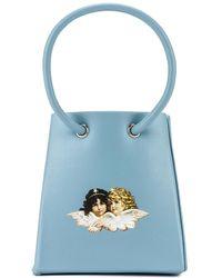 Fiorucci Мини-сумка Icon В Цвете Бледно-голубой - Синий