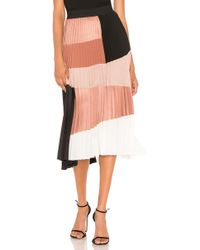 Nude - Colorblock Skirt - Lyst