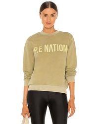 P.E Nation Fortify スウェットシャツ - グレー