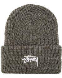 4420046352dd6 Stussy Terry Stock Lock Bucket Hat in Black for Men - Lyst