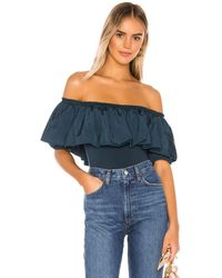 Free People Body poof goes my heart - Azul