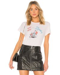RE/DONE - Her Way Graphic Classic Tee - Lyst
