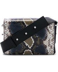 AllSaints - Versailles Large Shoulder Bag In Black. - Lyst