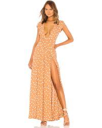 Tularosa Sid Wrap Dress - Pink