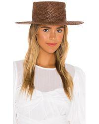 Brixton Шляпа Whitney В Цвете Коричневый