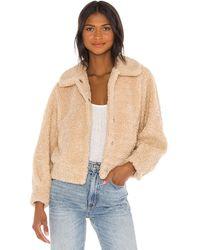 Astr Куртка Marjorie В Цвете Овсянка - Естественный