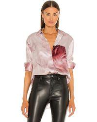 AllSaints Bernie January Shirt - Pink
