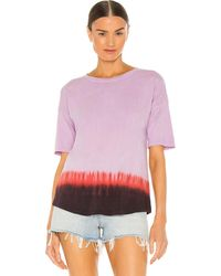 Raquel Allegra Basic Tシャツ - パープル