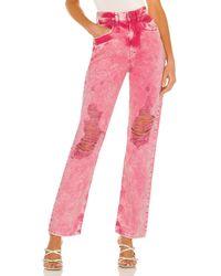 retroféte Chris Jeans - Pink