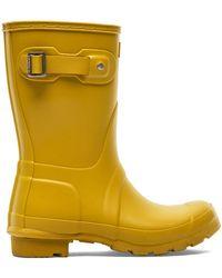 HUNTER Original Short Rain Boot - Yellow
