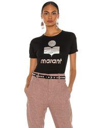 Étoile Isabel Marant Koldi Tシャツ - ブラック
