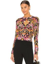 Versace Jeans Couture Versailles Knit Top - Black