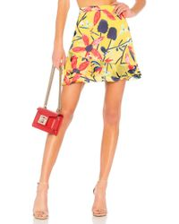 Saloni - Cece Skirt - Lyst