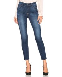 PAIGE - Hoxton High Rise Ankle Skinny. Size 28. - Lyst