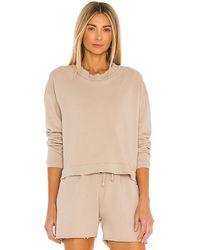 LNA Cropped Sweatshirt - Grey
