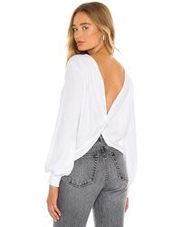 Lamade Stop By Twist Back Pullover - White