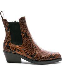 c50356b3aec1 Jeffrey Campbell Lita Leopard Print Boot - Lyst