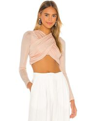 Significant Other Arta Top In Peach. Size Aus 10/us 6. - Multicolour