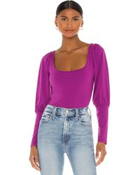 Susana Monaco トップ In Purple. Size S,xs. - パープル