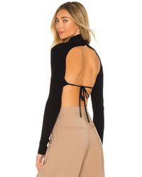 Camila Coelho Meriam セーター - ブラック
