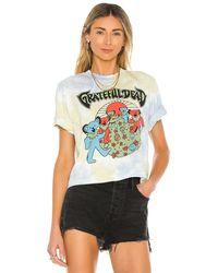 Junk Food Grateful Dead Shroom Bears Tシャツ - ブルー