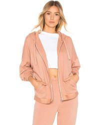 Calvin Klein - Tonal Logo Full Zip Hoodie - Lyst