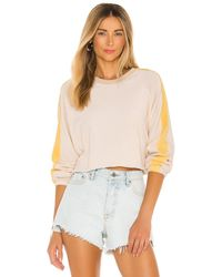 Electric and Rose Remy Pullover - White