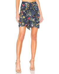 C/meo Collective - No Matter Skirt In Navy - Lyst