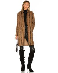 Blank NYC - Copperhead Faux Leather Coat - Lyst