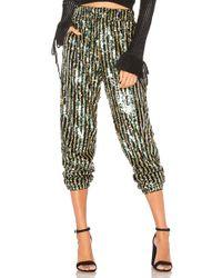 Tularosa - Cara Sequin Pant In Metallic Silver - Lyst