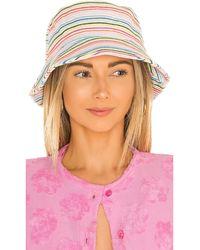 Lele Sadoughi Панама В Цвете Multicolor Stitch - Многоцветный