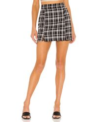 superdown Zoey Mini Skirt - Schwarz