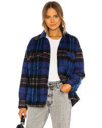Anine Bing Куртка Samone В Цвете Фиолетовый - Blue. Размер S (также В Xs). - Пурпурный