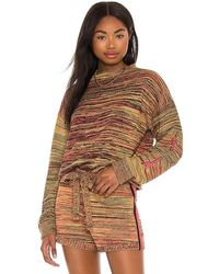 The Upside Nitara Knit Jumper - Brown