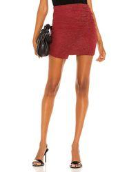 IRO Beal Mini Skirt - Red